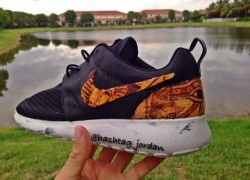 Nike Roshe Run 'Rah Pharaohs' Customs by Hashtag This Custom