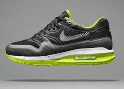Nike WMNS Air Max Lunar1 'Black/Dark Grey-Volt-Pure Platinum'