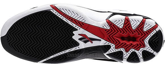 Reebok Blast White/Black-Red Exclusive Detailed Look