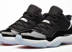 Release Reminder: Air Jordan XI (11) Low 'Black/Infrared23-Pure Platinum'