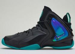 Release Reminder: Nike Lil' Penny Posite 'Black/Black-Reflective Silver-Hyper Jade'