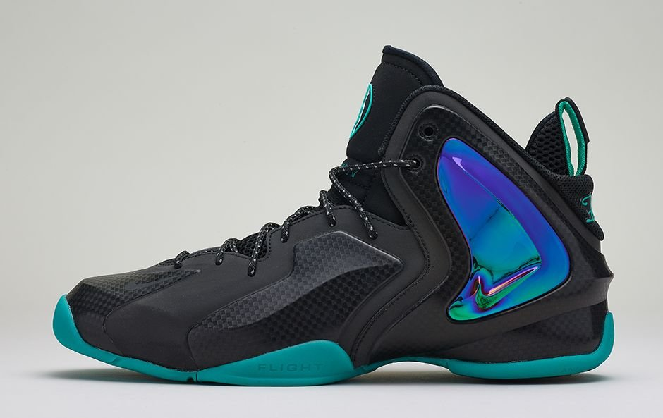 sports shoes 457be fff4f durable service Release Reminder Nike Lil Penny Posite Black Black  Reflective Silver Hyper Jade