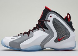Release Reminder: Nike Lil' Penny Posite 'White/Reflective Silver-Black-Chilling Red'