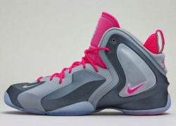 Release Reminder: Nike Lil' Penny Posite 'Wolf Grey/Wolf Grey-Hyper Pink'