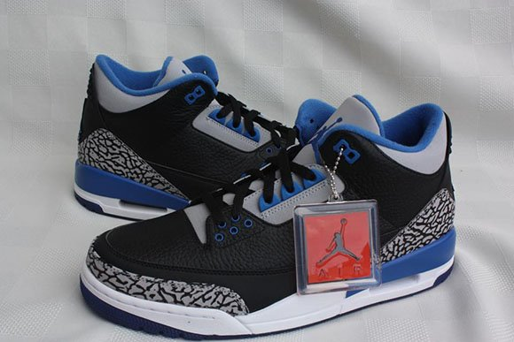 Sport Blue Air Jordan 3 - Another Look