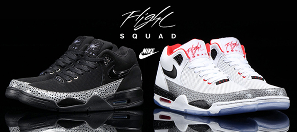 Two Pairs of Nike Flight Squad Safari