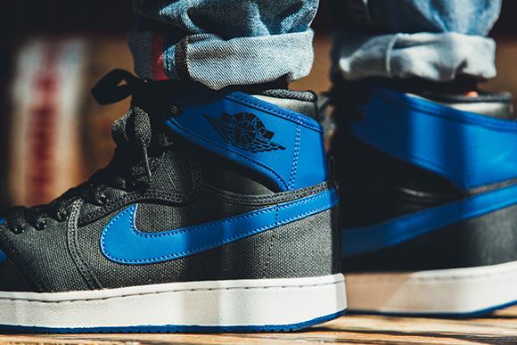 Air Jordan 1 Retro KO Hi OG Sport Blue On-Foot