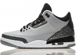 Air Jordan III (3) 'Wolf Grey' – Foot Locker Release Details