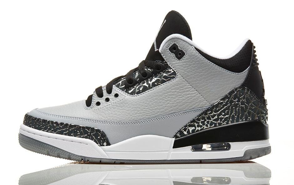 on sale 78141 504dc Air Jordan III (3) 'Wolf Grey' - Foot Locker Release Details ...
