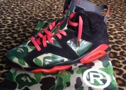 Air Jordan Retro 6 'BAPE' Customs by Customs By Etai