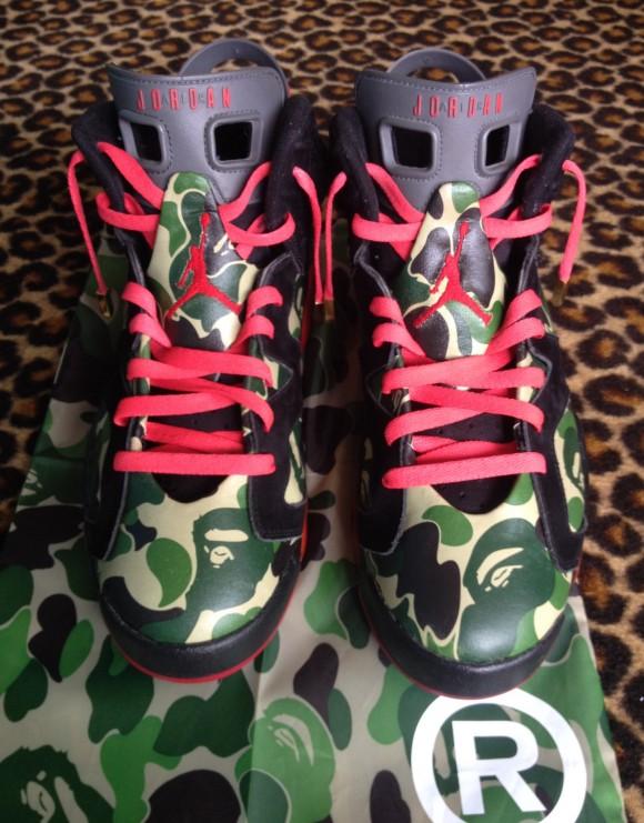 Air Jordan Retro  Bape Customs By Customs