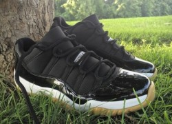 Air Jordan XI (11) Low 'Gum Bottom' Custom