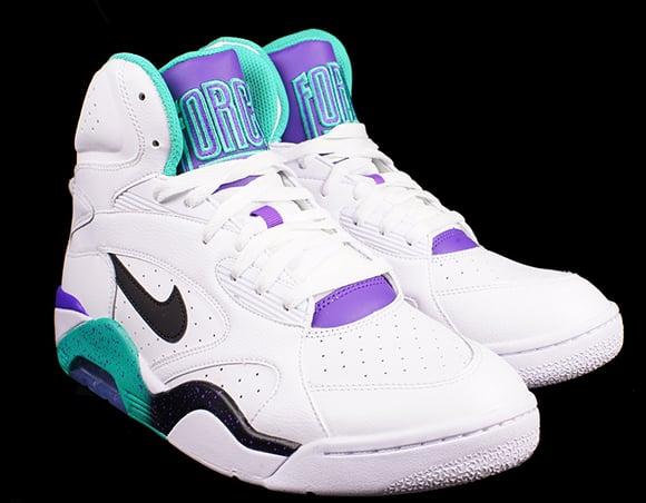 Grape Nike Air Force 180 Mid
