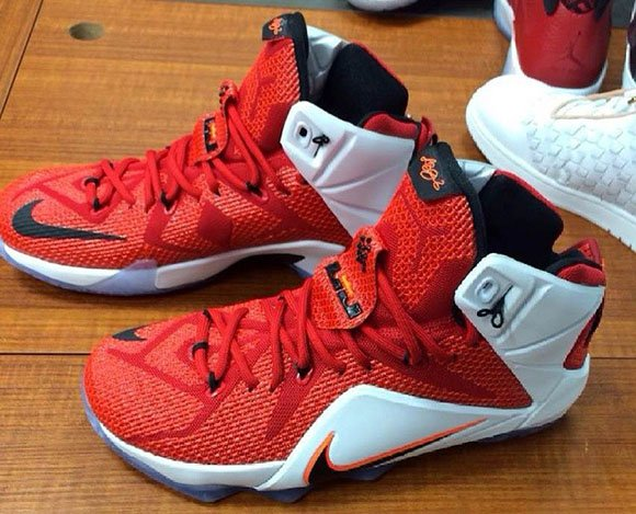 Lion Heart Nike LeBron 12 (Red/White)