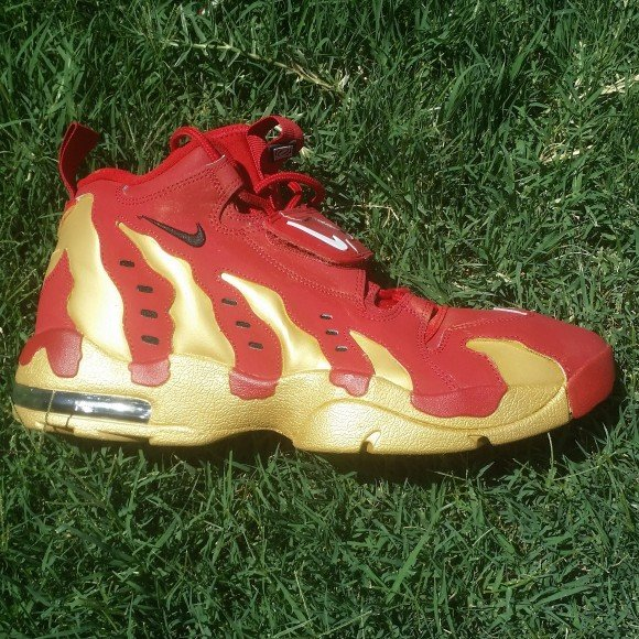Nike Air DT Max '96 'Forty Niners' Customs by Powell Kustoms