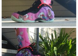 Nike Air Foamposite One 'My Dark Twisted Graduation' Customs by FBCC NYC