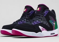 Nike Air Tech Challenge Hybrid 'Black/Rave Pink-Varsity Purple-White' – Release Date + Info