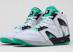 Nike Air Tech Challenge Hybrid 'White/Green Glow-Wolf Grey-Ice' – Release Date + Info