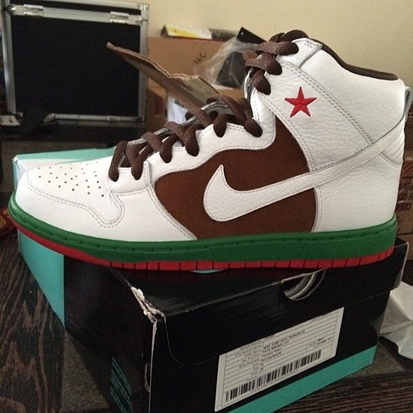 Nike Dunk SB High Cali Sample
