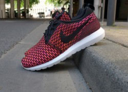 Nike Flyknit Roshe Run NM 'Fireberry'
