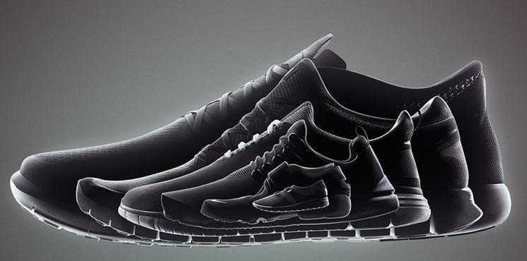 Nike Free 'Genealogy of Free' Black Pack