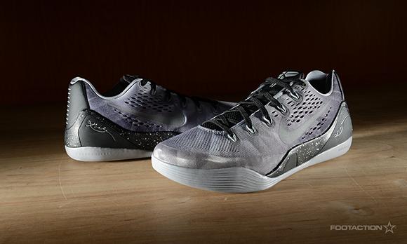 Nike Kobe 9 EM Black Metallic Silver