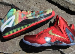 Nike LeBron XI (11) Elite 'Championship Pack' Samples