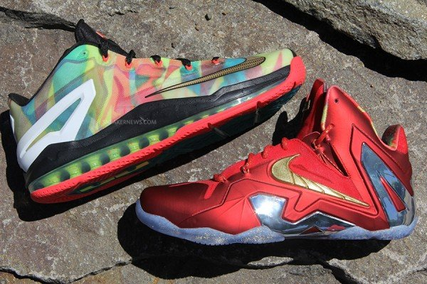 Nike LeBron XI (11) Elite 'Championship Pack' Samples ...