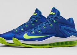 Nike LeBron XI (11) Low 'Sprite' – Official Images