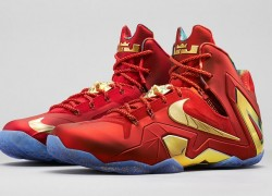 Nike LeBron XI (11) SE 'University Red/Metallic Gold' – Release Date + Info