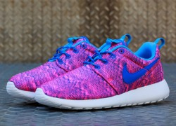 Nike Roshe Run GS 'Hyper Pink/Hyper Cobalt-University Blue'