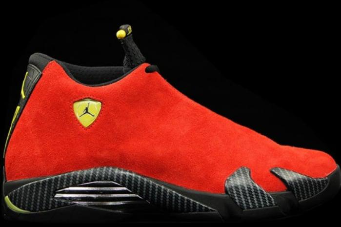 Release Date: Ferrari Air Jordan 14