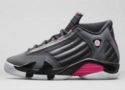 Release Reminder: Air Jordan XIV (14) GS 'Metallic Dark Grey/Hyper Pink-Black-White'