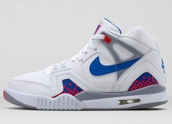 Release Reminder: Nike Air Tech Challenge II 'White/Royal Blue-Infrared-Flt Silver'