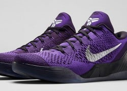 Release Reminder: Nike Kobe 9 Elite Low 'Hyper Grape'