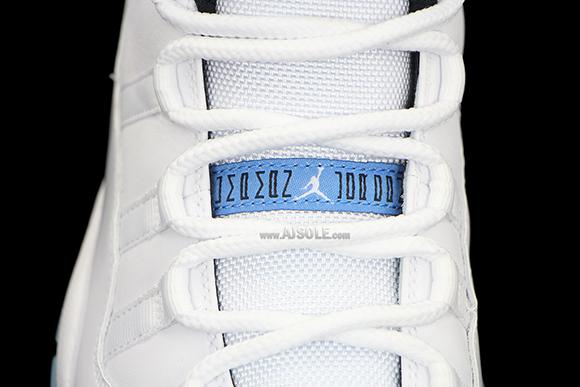 Air Jordan 11 Legend Blue Packaging + Another Look