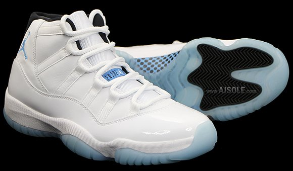 Air Jordan 11 'Legend Blue' Packaging + Another Look