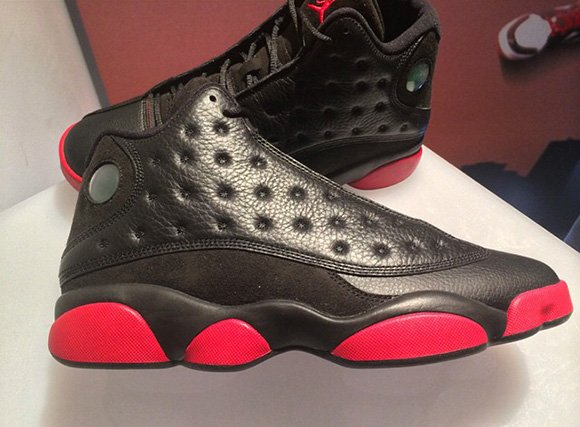 Air Jordan 13 Black Red - December 2014  b5346694fb9e