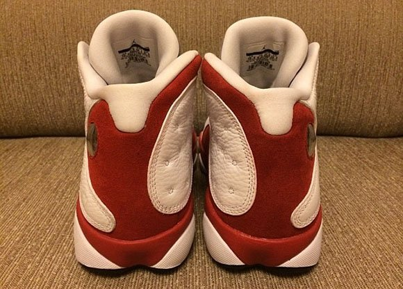 Air Jordan 13 (XIII) Grey Toe 2014 - Detailed Look