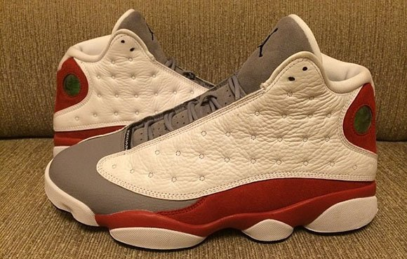 ce21e3c1426a Air Jordan 13 (XIII)  Grey Toe  2014 - Detailed Look