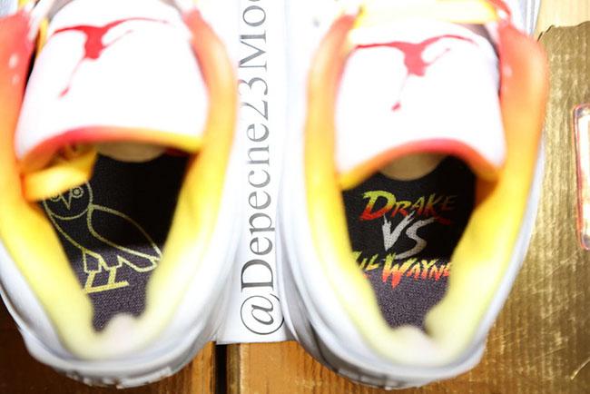 Air Jordan 3 Drake vs Lil Wayne