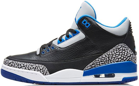 Air Jordan 3 Sport Blue - Official Images