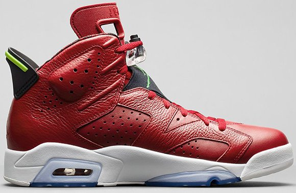 Air Jordan 6 Varsity Red aka Spizike - Official Images