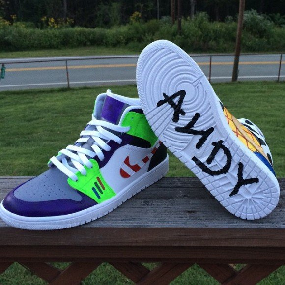 Air Jordan Retro 1 Toy Story Customs By Uniedits