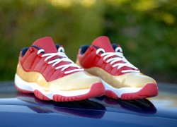 Air Jordan Retro 11 Lows Ray Allen PE 'Ring Ceremony Aways' Customs by Have Air Customs