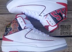 Air Jordan Retro 2 'Legacy' Customs by Big Tuss