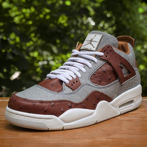 air-jordan-retro-4-ostrich-and-denim-customs-by-jbf-customs