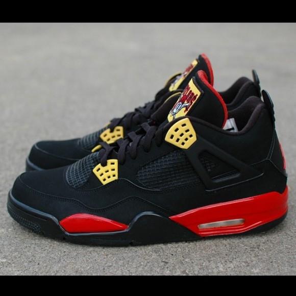Air Jordan Retro 4 Taylor Gang Customs By Hippie Neal
