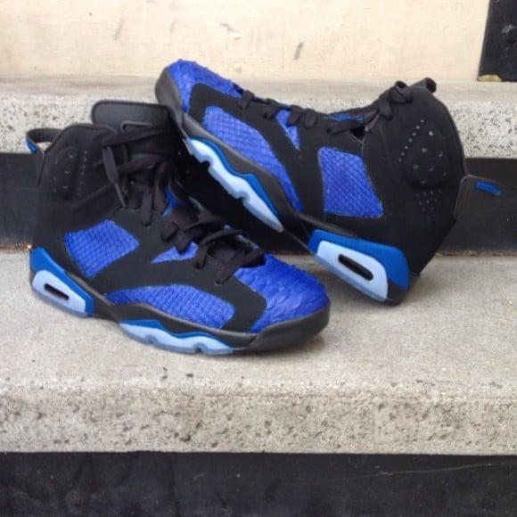 air-jordan-retro-6-royal-blue-python-customs-by-customs-by-etai-and-fbcc-nyc