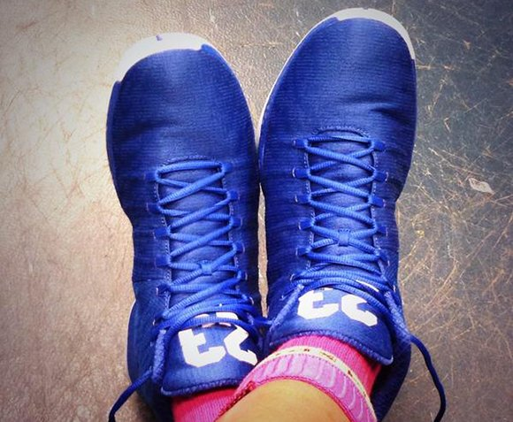 Air Jordan XX9 Maya Moore Blue Away PE